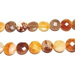 AG-Mix21 Beads , mixed agate handcut  nugget